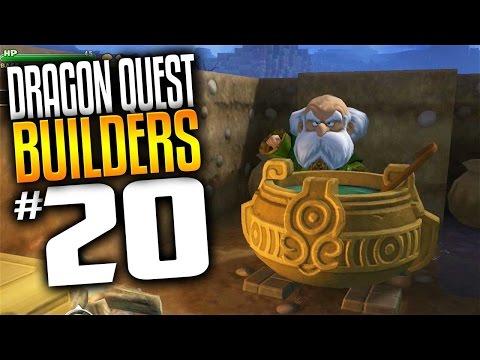 Dragon Quest Builders Gameplay - Ep 20 - Herbal Workshop (Lets Play Dragon Quest Builders