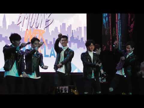 20171111 2moons fan meeting in manila-dance