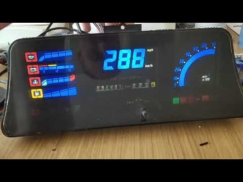 Astra GTE 16v Digital Dash Blue/white With LEDs