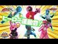 なりきりキュウレンジャー&仮面ライダービルド&ジュウオウジャー! ヒーロー運動会だよ 赤と青のヒーロー達がボウリング対決だ