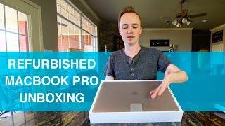 Gambar cover Refurbished MacBook Pro w/ Touchbar Unboxing