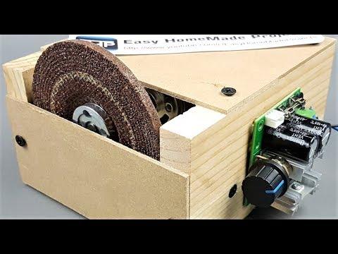 DIY Grinding & Cutting Machine using 775 Motor || How to