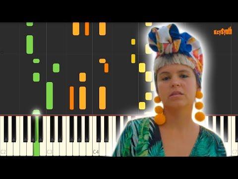 To my love - Bomba Estereo - Piano - Cover - Tutorial - Synthesia - Keysynth