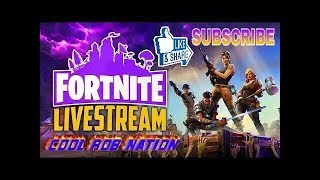 HANGOUT PLAYING FORTNITE WITH THE CRN CLAN SUB TO JOIN GET HYPE