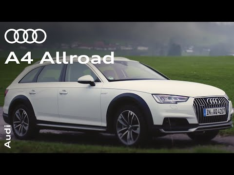 Audi A4 2016: The A4 allroad quattro in action