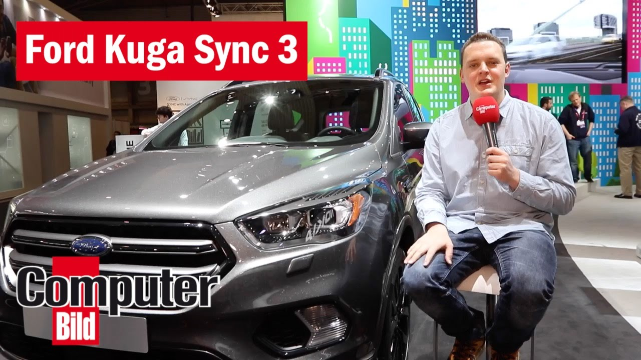 ford kuga sync 3 neues infotainment im hands on youtube. Black Bedroom Furniture Sets. Home Design Ideas