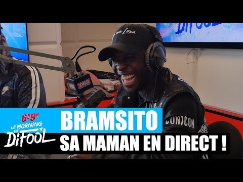 Youtube: Bramsito – Sa Maman lui fait une surprise en direct ! #MorningDeDifool