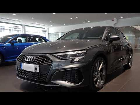 Best spec? New 2020 Audi A3 Sportback with S-line| Daytona ...