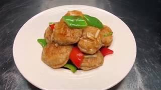 厨师长教你一道虾滑煎藕饼,鲜美爽脆,色泽金黄,大人小孩都爱吃Chinese food——Shrimp fried Lotus Root Cake