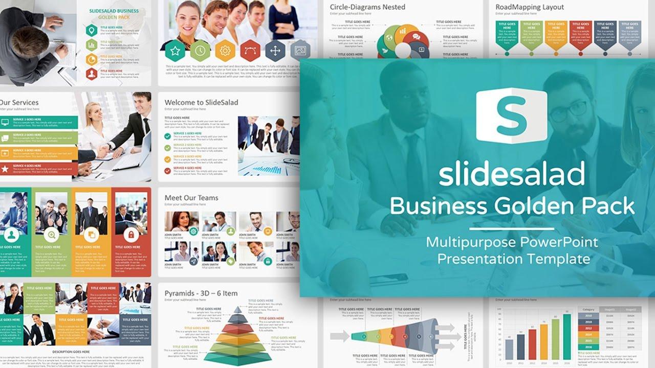 best multipurpose powerpoint presentation templates slidesalad