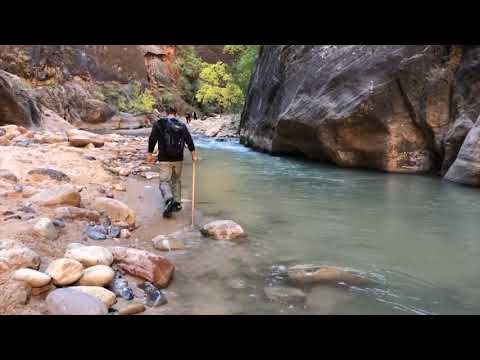 Hiking Zion, Narrows, October 2018, T2DESIGN (IphoneX DJI Osmo)