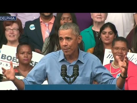 """Obama: """"Out of this political darkness, I see a great awakening happening"""""""