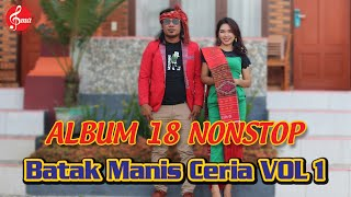Download 18 Non Stop Lagu Batak Manis Ceria Vol.1