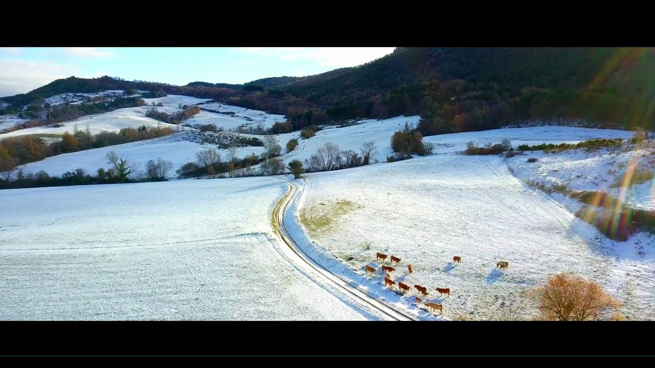 Beauté immaculé (Aude et Ariège en drone) de Kmmprod