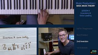 BASIC MUSIC THEORY 6 - Inversions & Voice Leading
