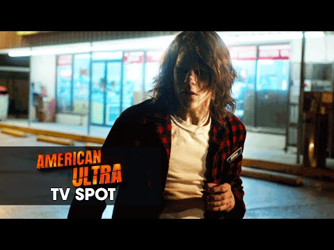 """American Ultra (2015) Official TV Spot – """"New Kind of Agent"""""""