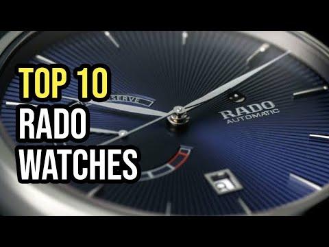 Top 10 Rado