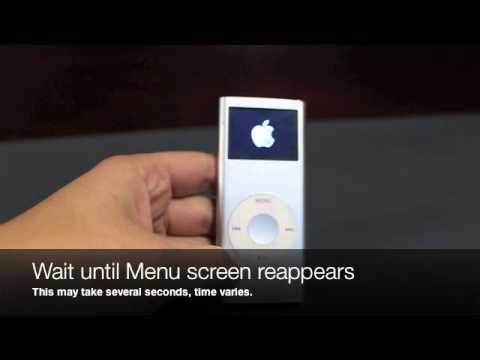 how to restart ipod nano 2nd generation youtube rh youtube com ipod nano 2nd generation 4gb instructions Apple iPod 2GB Instruction Manual