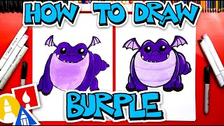 How To Draw Burple From Rescue Riders