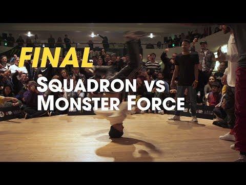Squadron vs Monster Force [final] // stance // Massive Monkees Weekend 2018 ► udeftour.org