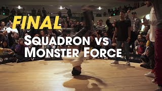 Squadron vs Monster Force [final] // stance // Massive Monkees Weekend 2018 ► udeftour.org