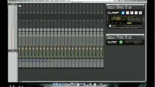 CLASP VIDEO MANUAL CH6 - PRO TOOLS TEMPLATE, SETUP