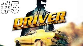 Driver San Francisco Gameplay Walkthrough Part 5 No Commentary