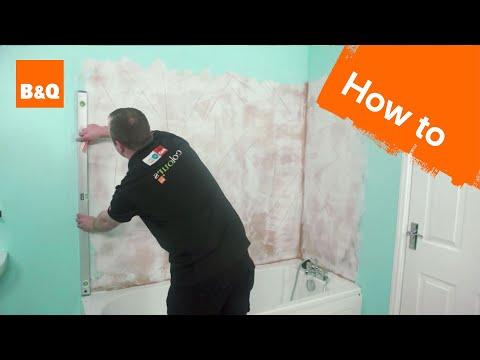 How To Tile Bath Splashback Part Preparation