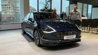 Новая Hyundai Sonata 2020 для России - теперь онлайн со скидками!