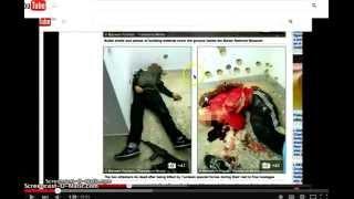 #BanderaFalsaTunez EXPUESTA!!!! FAKE terrorista sin zapatilla despues de muerto