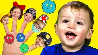Finger Family | Baby Shark +More Nursery Rhymes & Kids Songs by LETSGOMARTIN