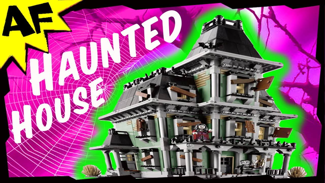 Haunted House Lego Monster Fighters Set 10228 Animated