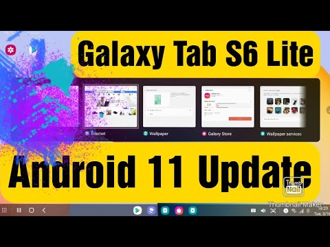 Samsung Galaxy Tab S6 Lite Android 11 Update | Samsung Galaxy Tab S6 Lite Android R Update Review