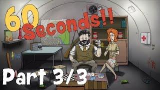 60 Seconds - Handicapped Co-Op Modus - Wir spielen blind [3/3] [59FPS!fml]