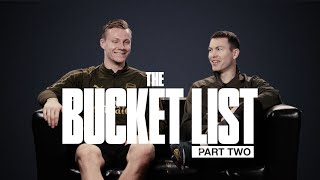 FANCY GOING SURFING WITH LENO? | Bucket Lists | Episode Two