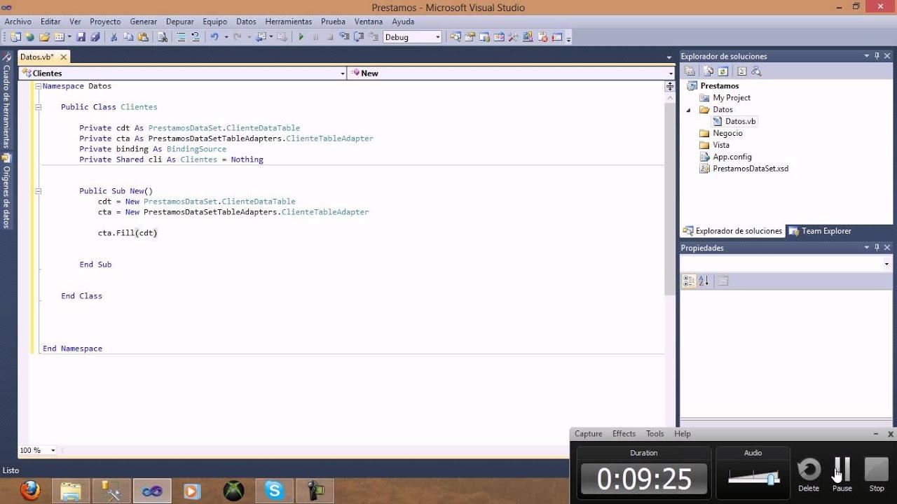 Crear un modulo en la arquitectura 3 capas en visual for Arquitectura 3 capas