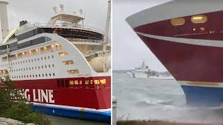 Anna är ombord på Viking Lines Grace - hörde en