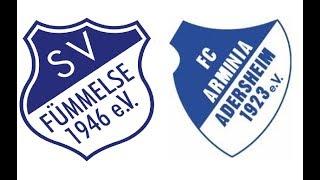 SV Fümmelse - FC Arminia Adersheim 6:2 [3:2] | NDSH live Folge 109 [12.08.18]
