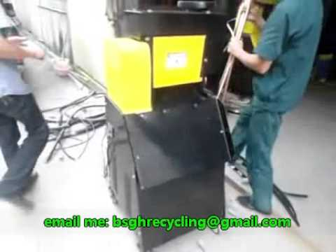 BS 011 wire stripper machine for scrap cable peeling recycling for big cables