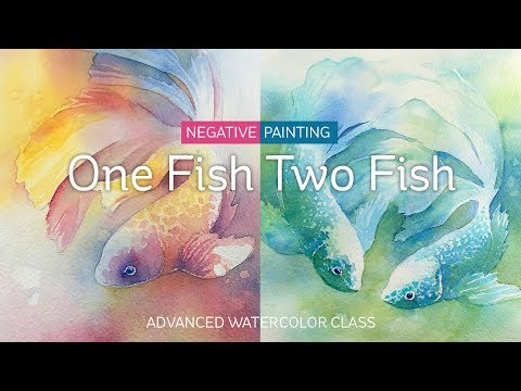 Art-Classes: One Fish Two Fish Watercolor Course