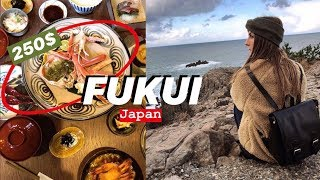 HIDDEN JAPAN: FUKUI PREFECTURE & EATING EXPENSIVE JAPANESE FOOD 🦀
