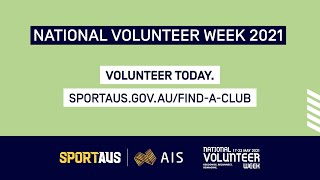 Title: National Volunteer Week – Libby Trickett