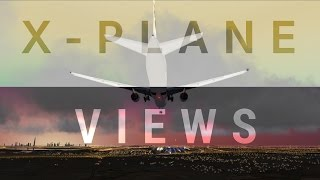 How to use X PLANE-10 views