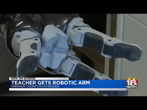 Greenup County Teacher Gets Robotic Arm