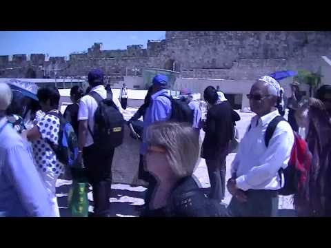 Cochin Jewish Community in Israel - Jerusalem Unification 50th Anniversary: To Western Wall Tunnel 2