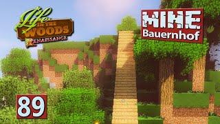 MINE Bauernhof | Macht mich froh: Viel Gabbro ► #89 MINECRAFT Life in The Woods deutsch
