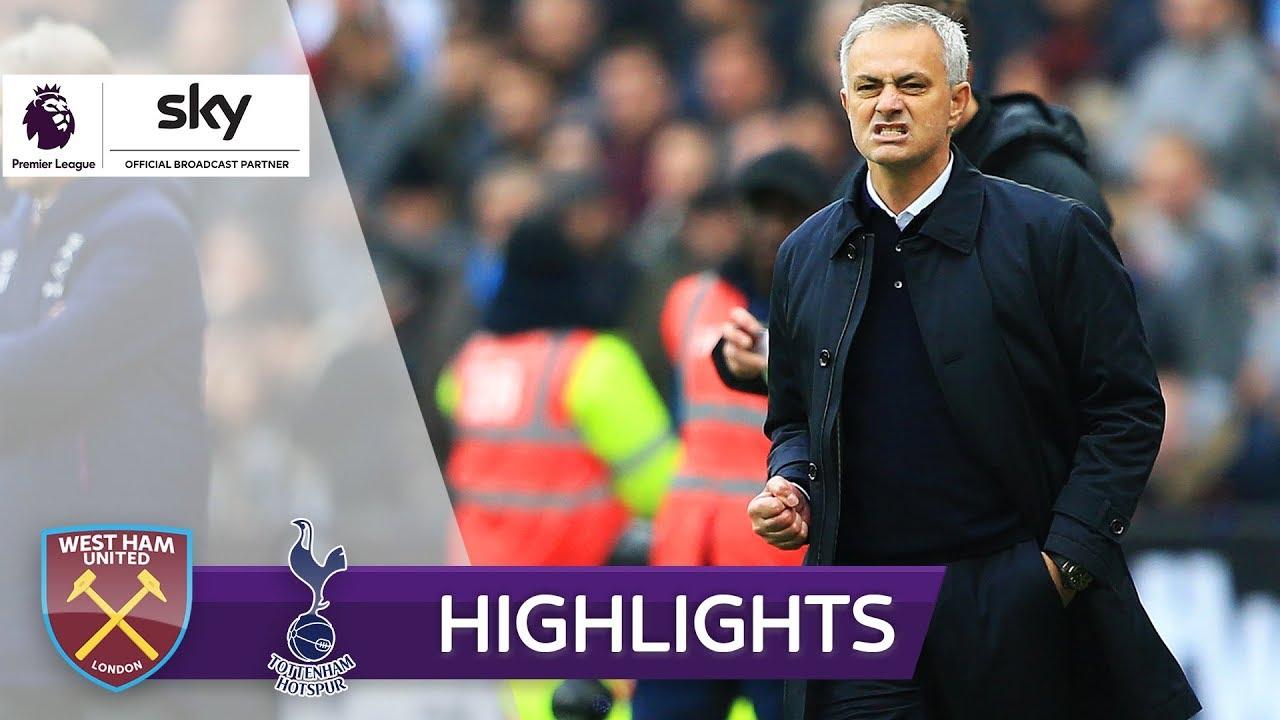 The Special One meldet sich mit Sieg zurück!   West Ham United - Tottenham Hotspur 2:3   Highlights