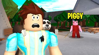 I Found PIGGY'S BLOXBURG PLOT.. I Exposed His EVIL SECRET! (Roblox)