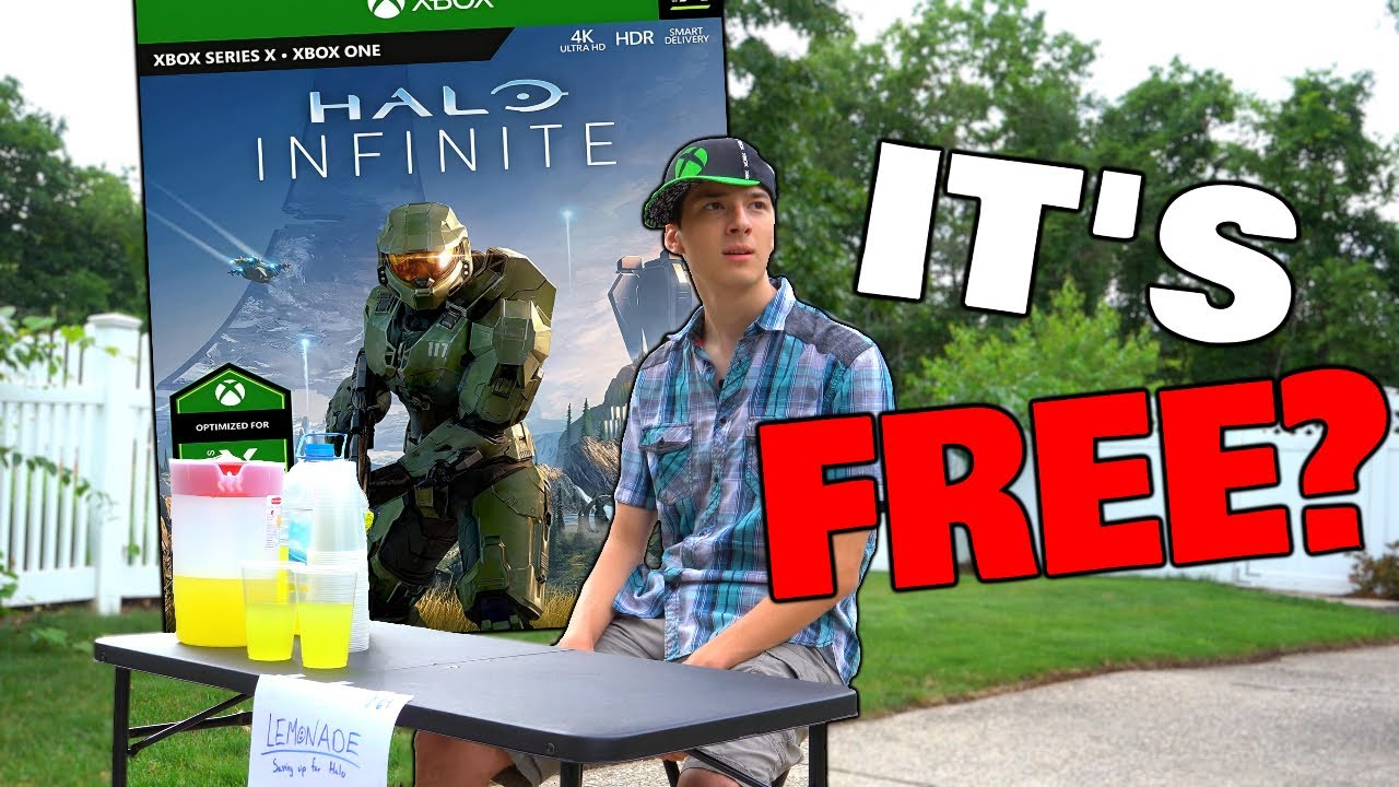 WAIT... Halo Infinite is Free to Play?