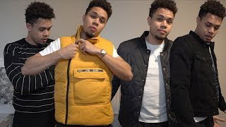 FALL/WINTER OUTERWEAR FASHION NOVA MEN CLOTHING HAUL AND TRY ON 🔥